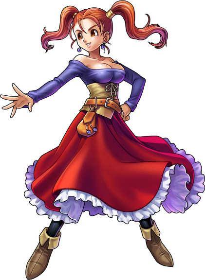 Jessica Dragon Quest Viii