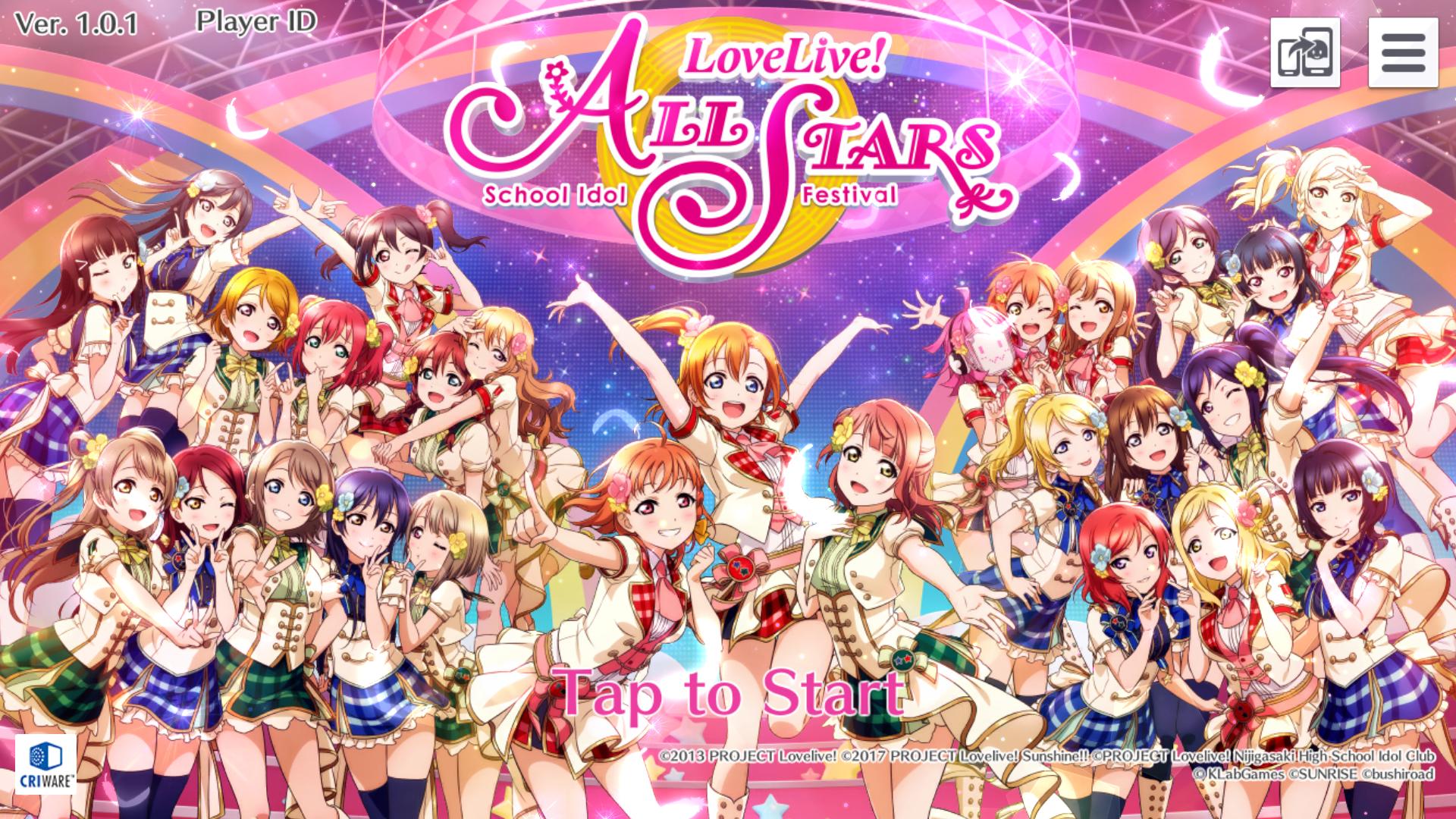 Love Live School Idol Festival All Stars