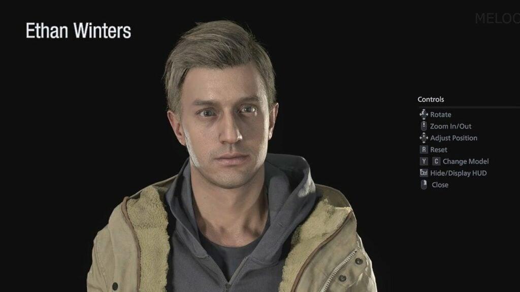 Resident Evil Ethan Winters