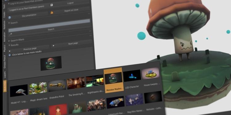 Epic Games Akuisisi Perusahaan Software Modeling 3D Sketchfab
