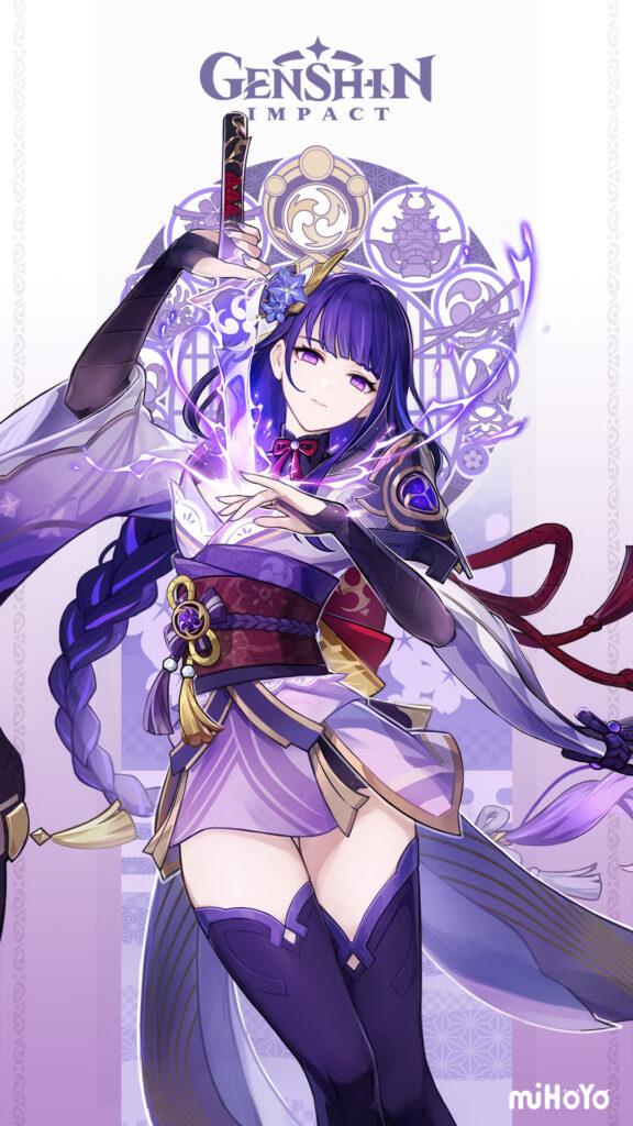Genshin Impact Raiden Shogun Baal