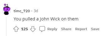 Red Dead Redemption 2 John Wick