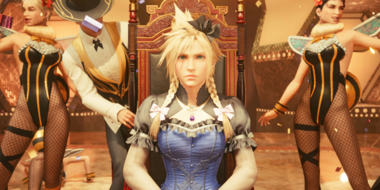 Hari Lipstick Cloud Strife Final Fantasy VII Remake