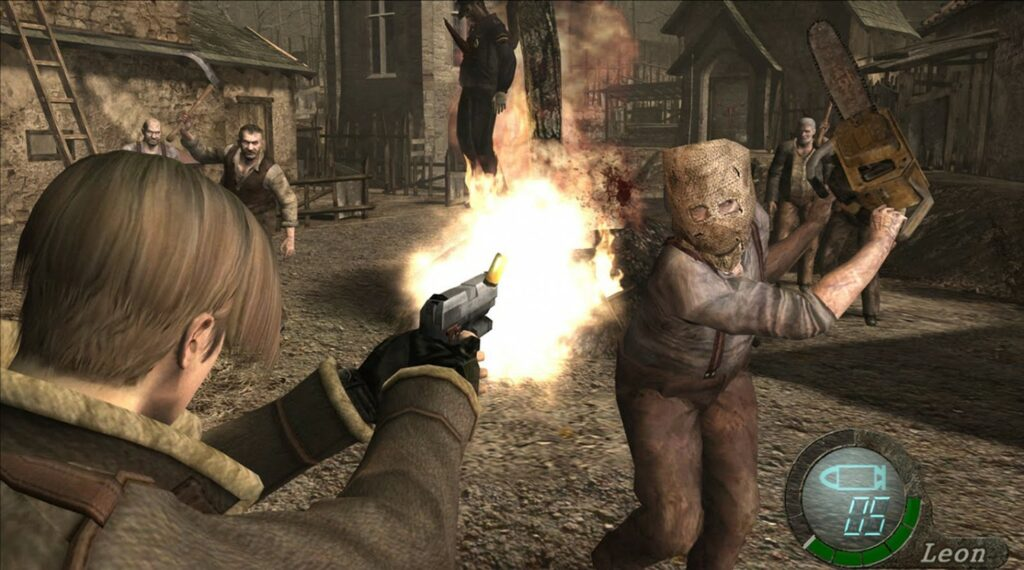 Resident Evil 4 Third Person Shooter