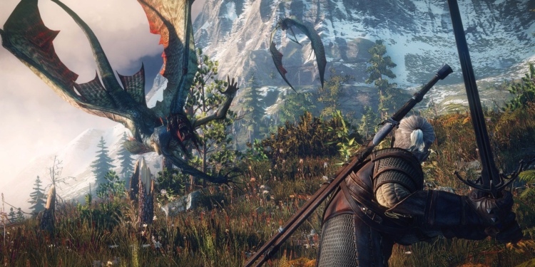 The Witcher 3 Wild Hunt The Sirens May Look Beautiful In The Water But Once They Re Out Of It They Change Into Deadly Flying Creatures..0