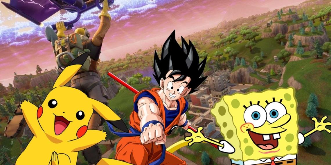 Epic Bagikan Survei Untuk Crossover Fortnite, Ada Goku, Pokemon Hingga SpongeBob