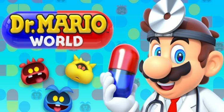 Dr Mario World Couv