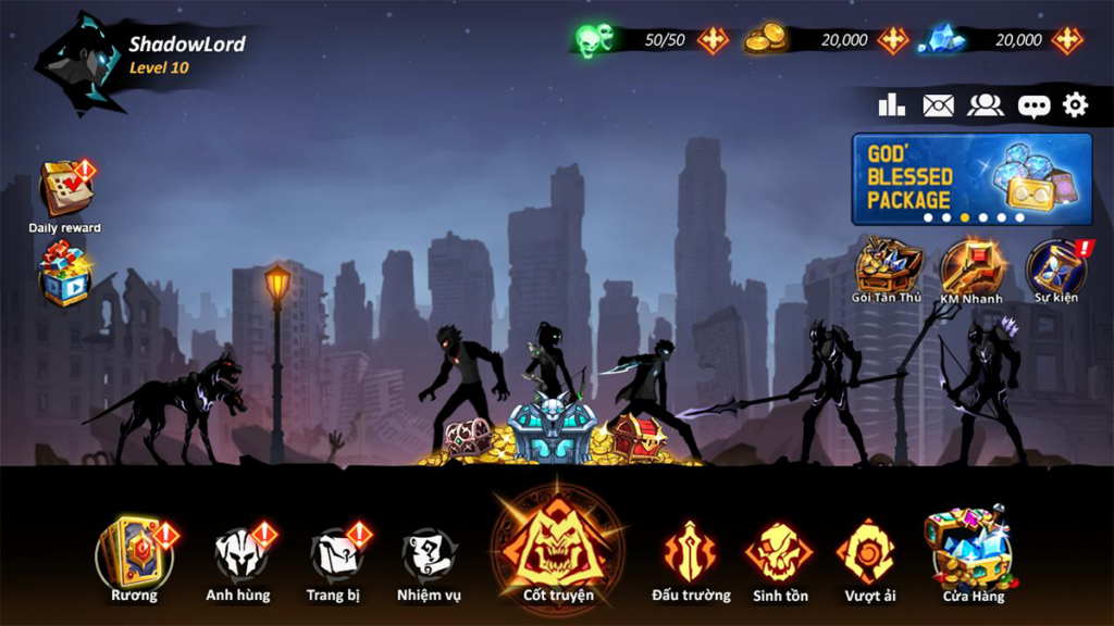 Shadow Lord Game Android Hack and Slash Gratis 2021