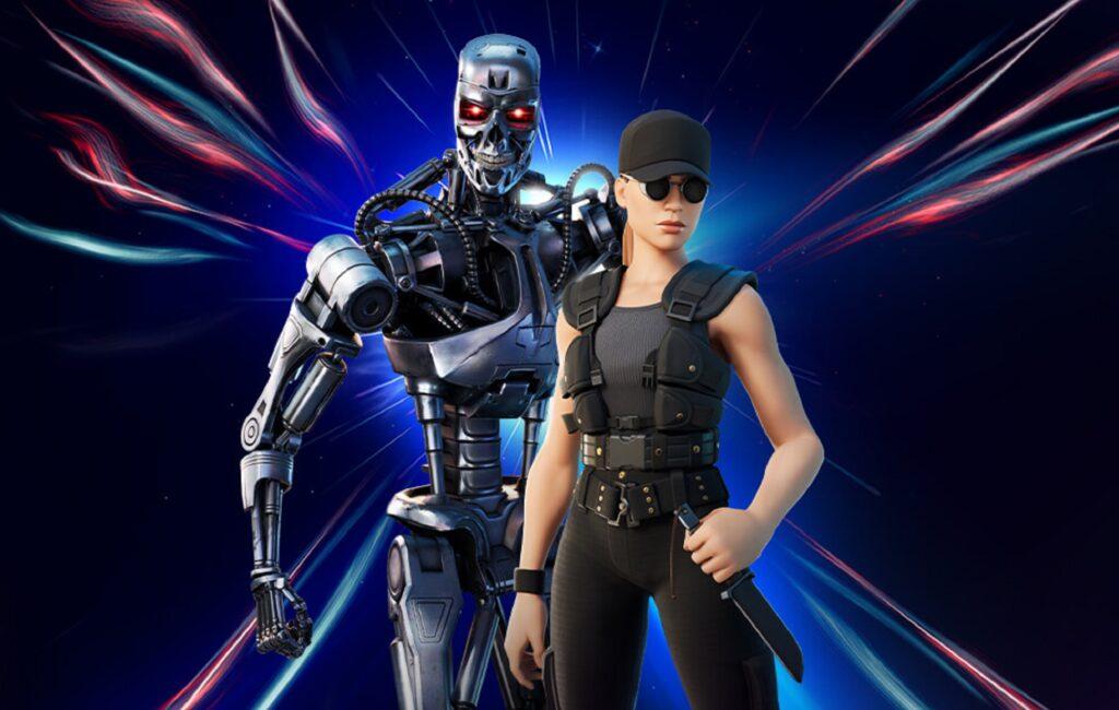 012221 Fortnite Sarah Connor Terminator