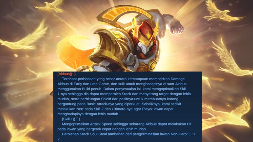 Aldous patch note 1.6.10
