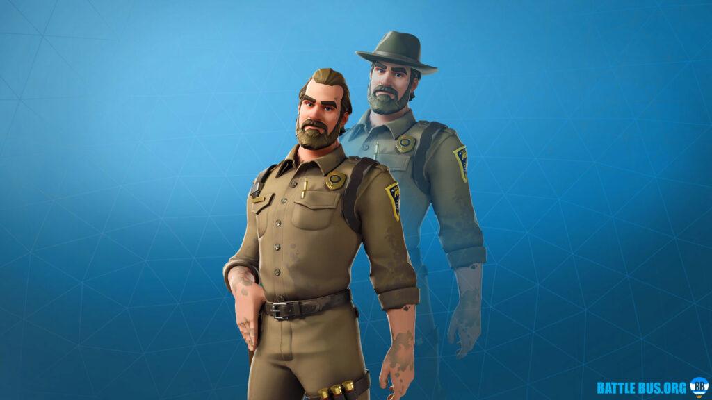 Chief Hopper Fortnite Stranger Things Skin
