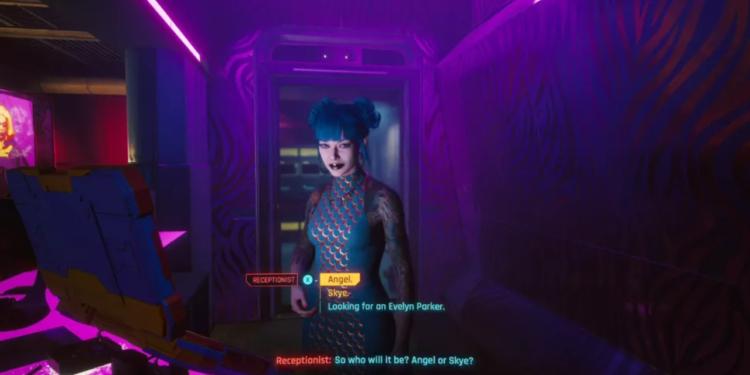 Cyberpunk 2077 Angel Or Skye