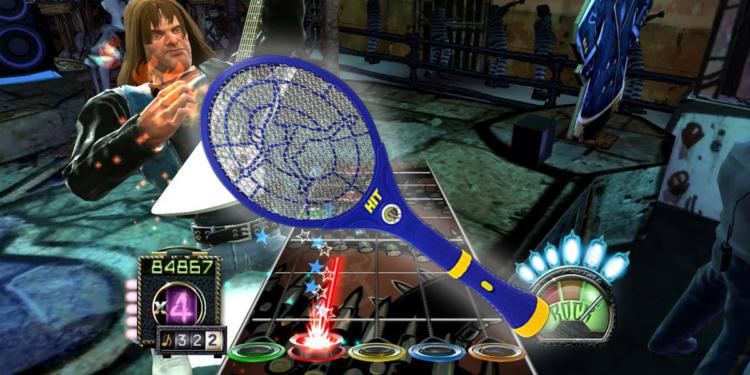 Guitar Hero Raket Nyamuk