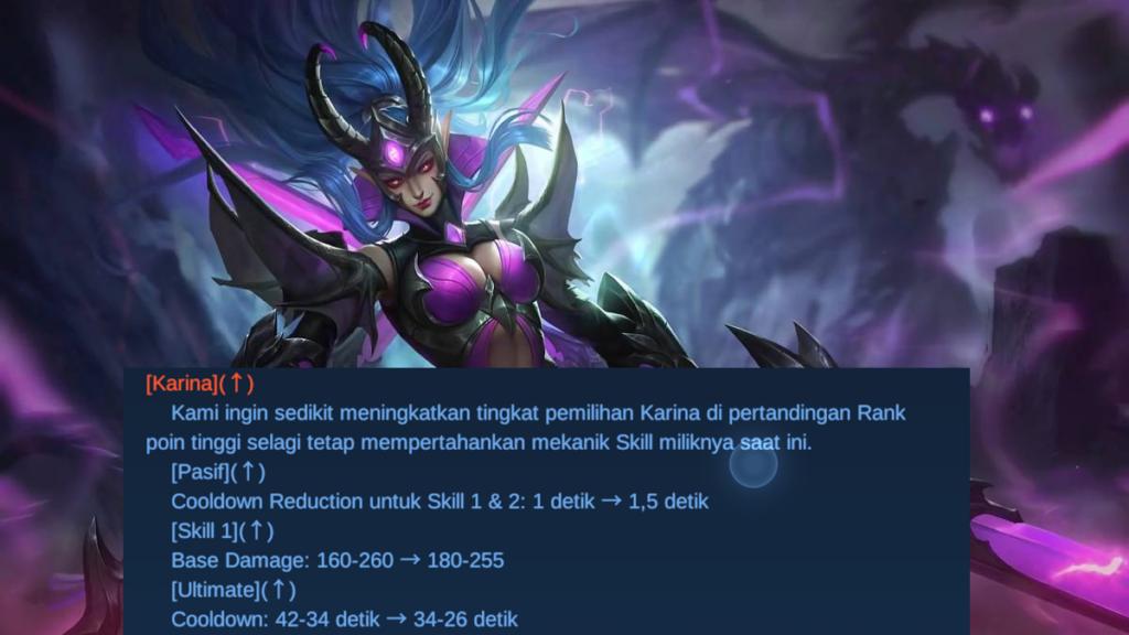 Karina patch note 1.6.10