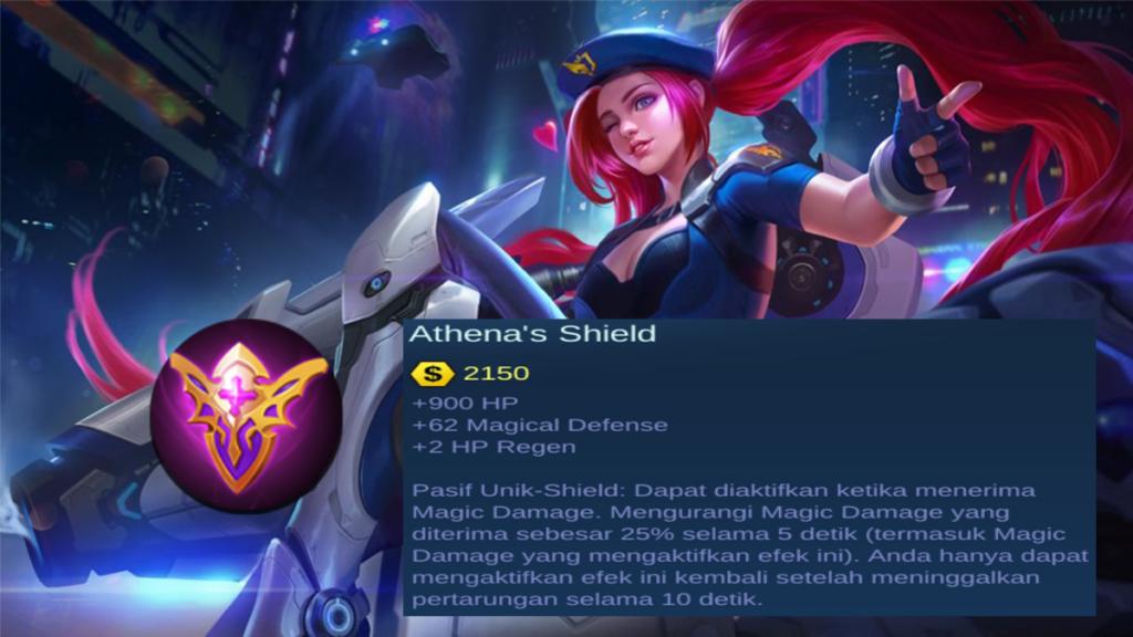 Pasif Unik Athena Shielditem magic defense