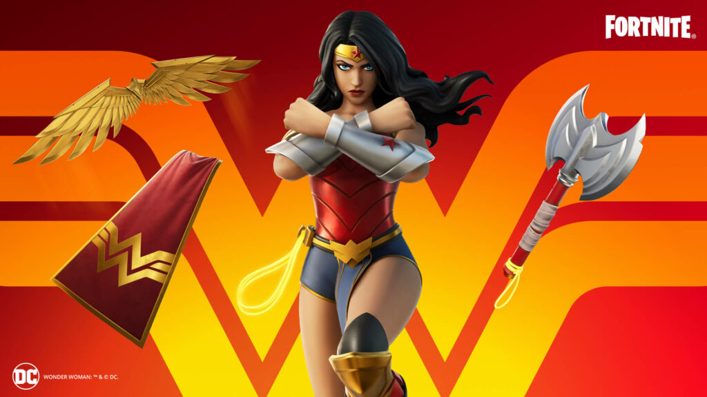 Fortnite Wonder Woman Outfit And Items 1920x1080 9752d98f0140