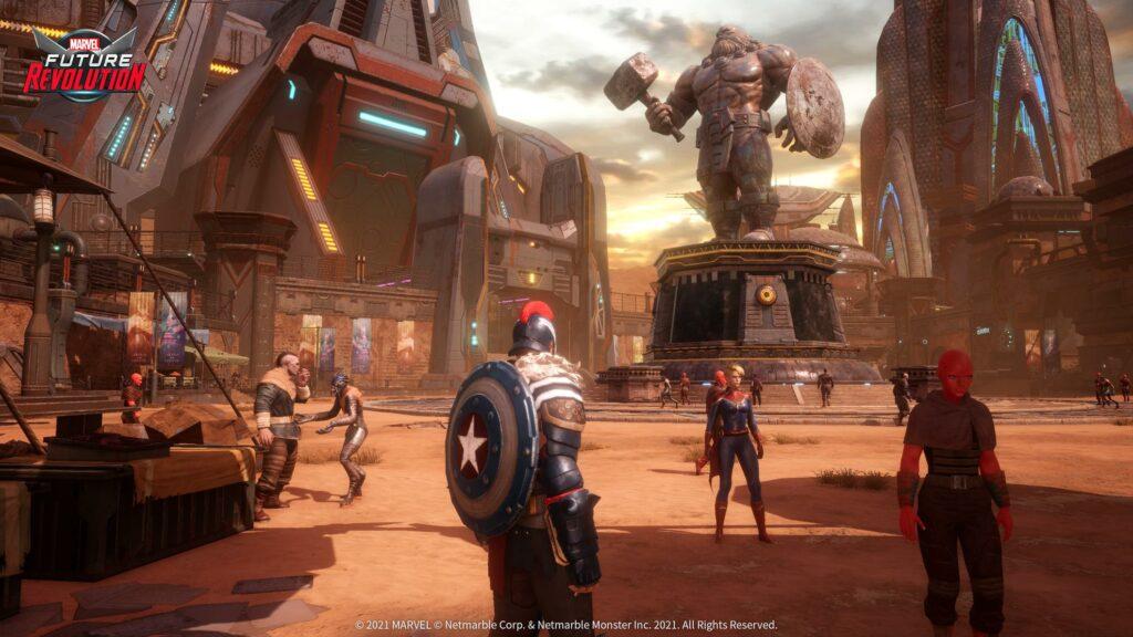 Marvel Future Revolution Reveal Screen 3
