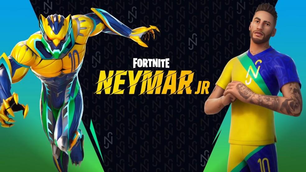 Neymar Copa Fortnite 1