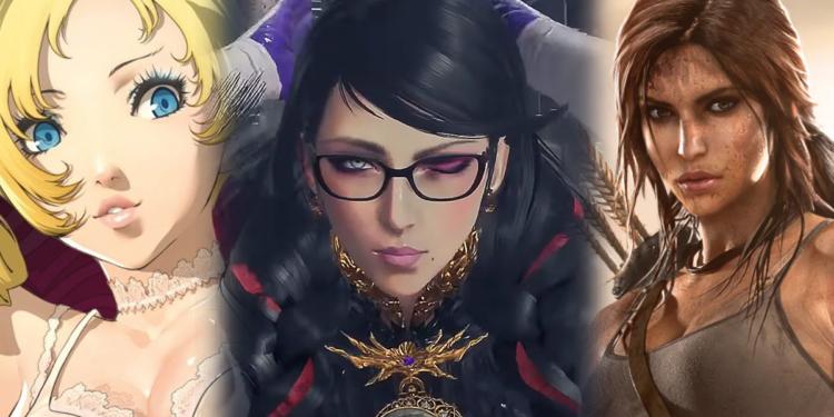 Karakter Wanita Video Game Cantik Seksi