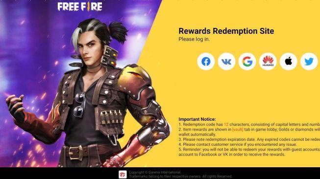15825 Situs Redeem Kode Free Fire Website Resmi Klaim Kode Redeem Ff