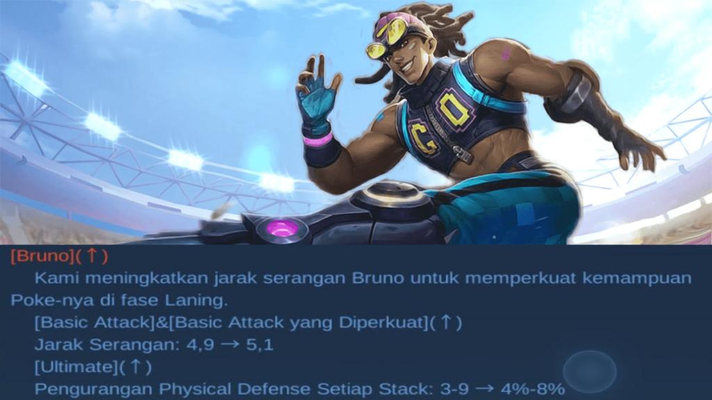 buff Bruno patch note 1.6.18