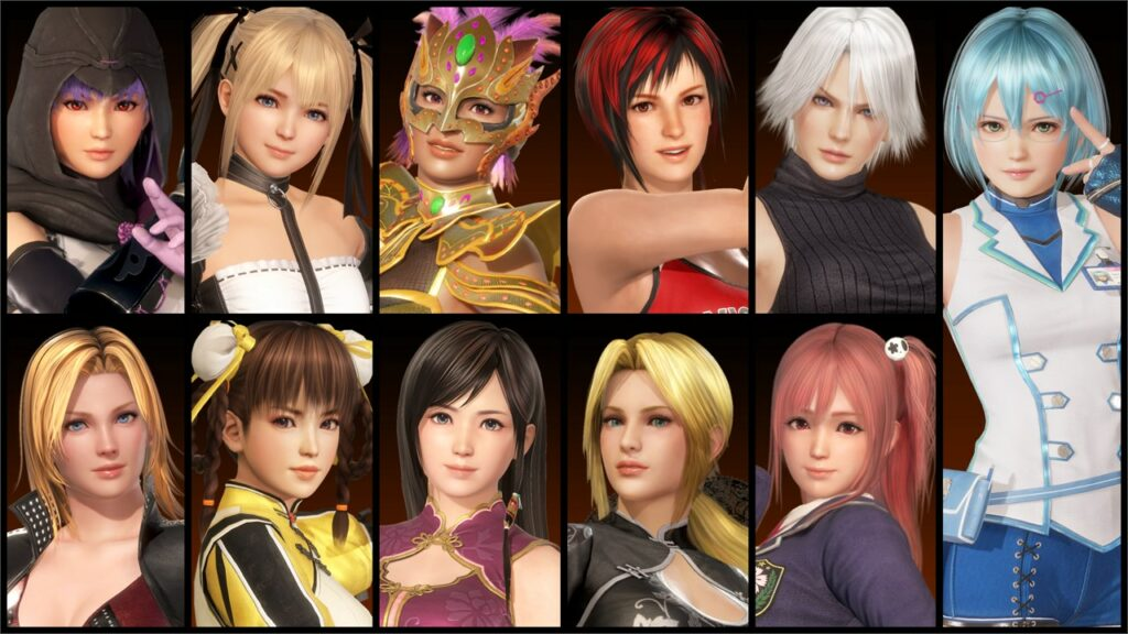 Dead Or Alive Female Characters