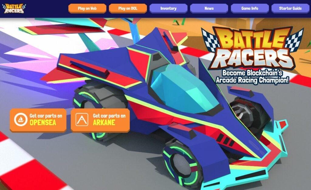 Game Nft Battle Racers