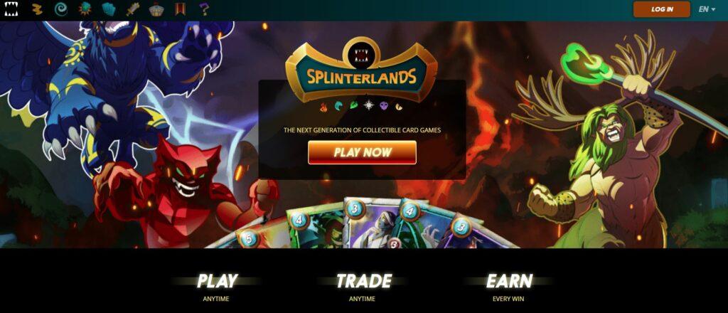 Game Nft Splinterlands