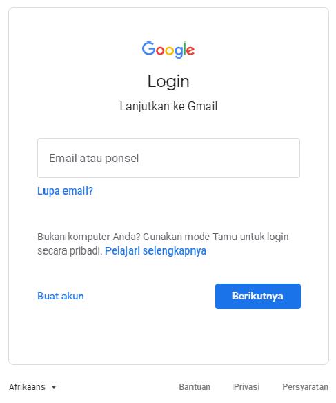 Membuat Google Drive 1 1