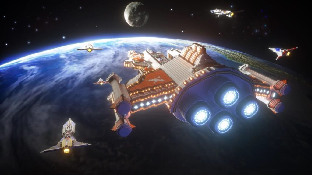 Mini World Starship
