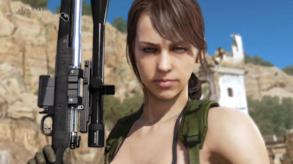 Quiet Metal Gear Solid V The Phantom Pain