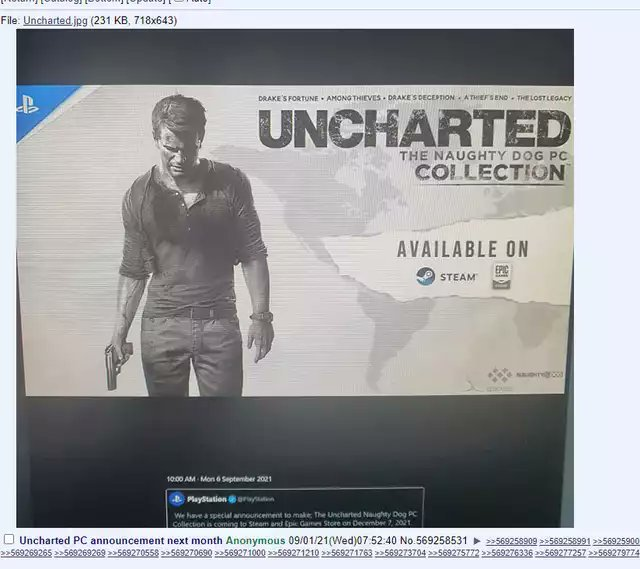 Rumor Uncharted Collection Pc