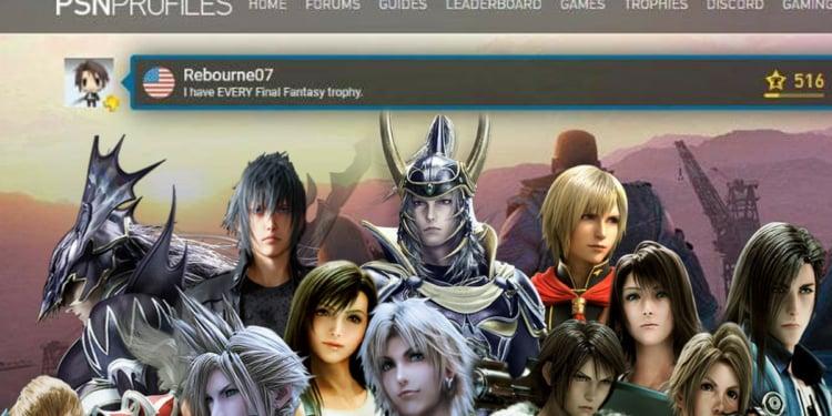 Trophy Final Fantasy