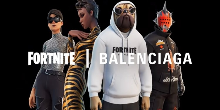Kolaborasi dengan Balenciaga, Fortnite Jual Kemeja Polos Seharga 14 Juta Rupiah
