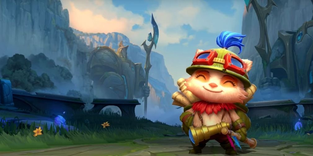 League Of Legends Wild Rift Ios Android Teemo Full Body