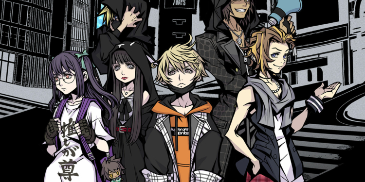 Neo The World Ends With You Key Art