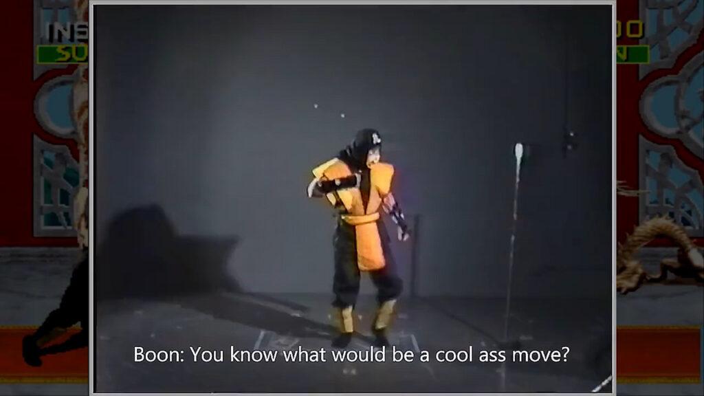 Mortal Kombat Behind the Scene