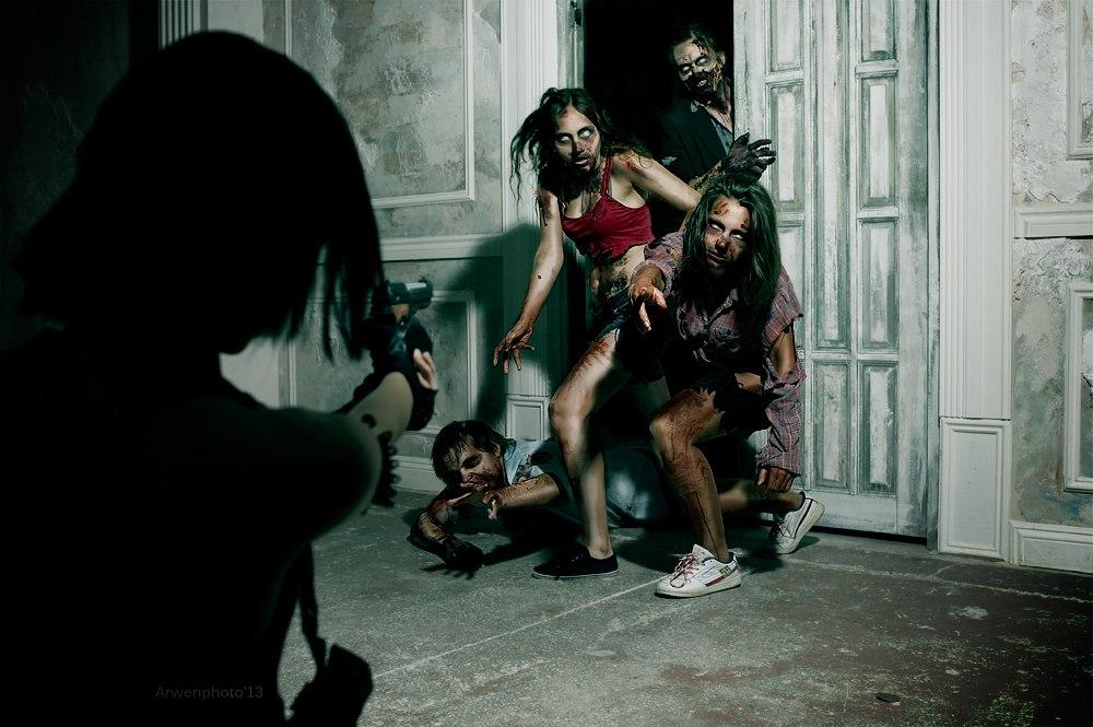 Resident Evil Zombie Cosplay By Aoki Lifestream